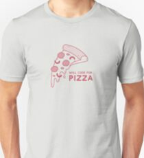 Will Code for Pizza - Programming T-Shirt