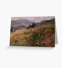 William Trost Richards (American; ) Essex County in the Adirondacks Oil on wove paper, . Princeton University Art Museum, Princeton, ... Greeting Card