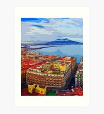 Vesuvio, Naples Art Print