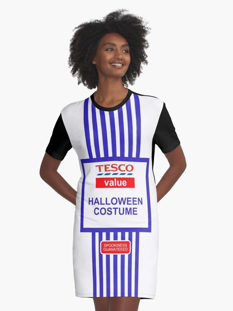TESCO VALUE CHRISTMAS PRESENT Halloween Costume Fancy Dress Kids Ladies T-Shirts