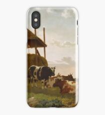 William Tylee Ranney(American, )Haying Time iPhone Case/Skin