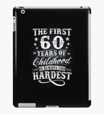 Classic Vintage Retro 60th Birthday 60 Year Old Gift iPad Case/Skin