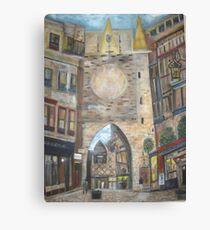 Cityscape European      Canvas Print