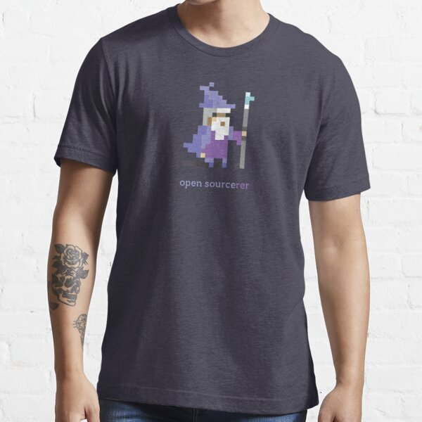 8-bit Open Source Sorcerer - Programming Essential T-Shirt