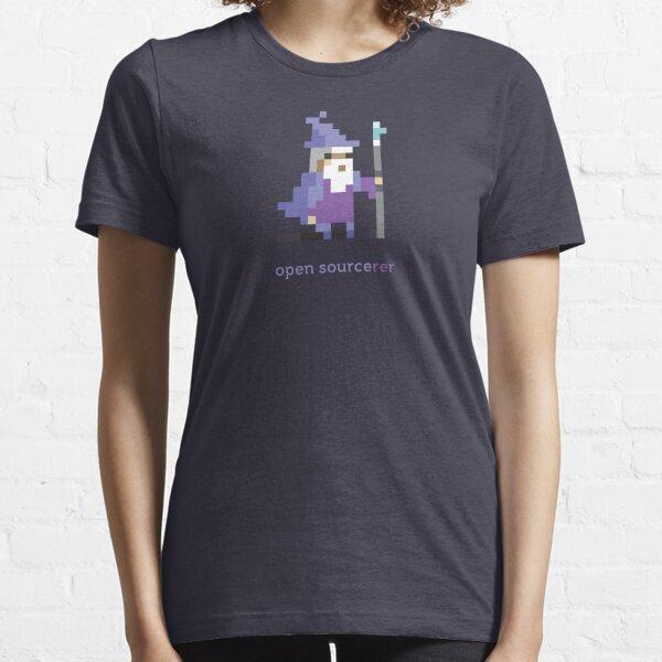 Hechicero de código abierto de 8 bits - Programación Camiseta esencial