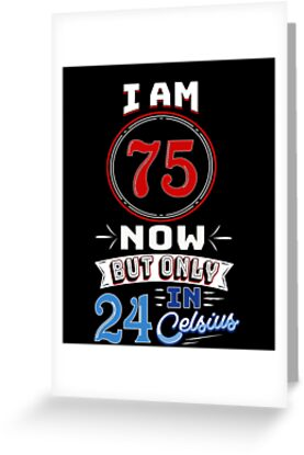 Funny 75th Birthday Gag Gift 75 Year Old