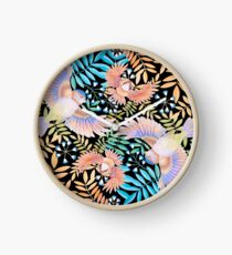 Birds of Paradise Clock