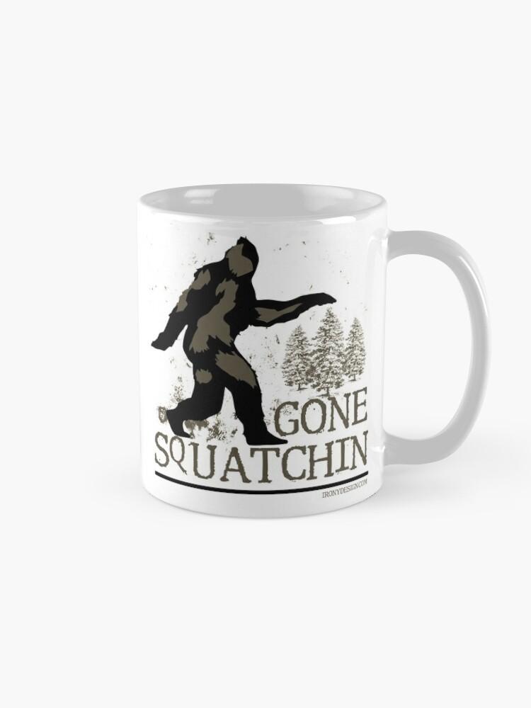 Alternate view of Gone Squatchin Mug