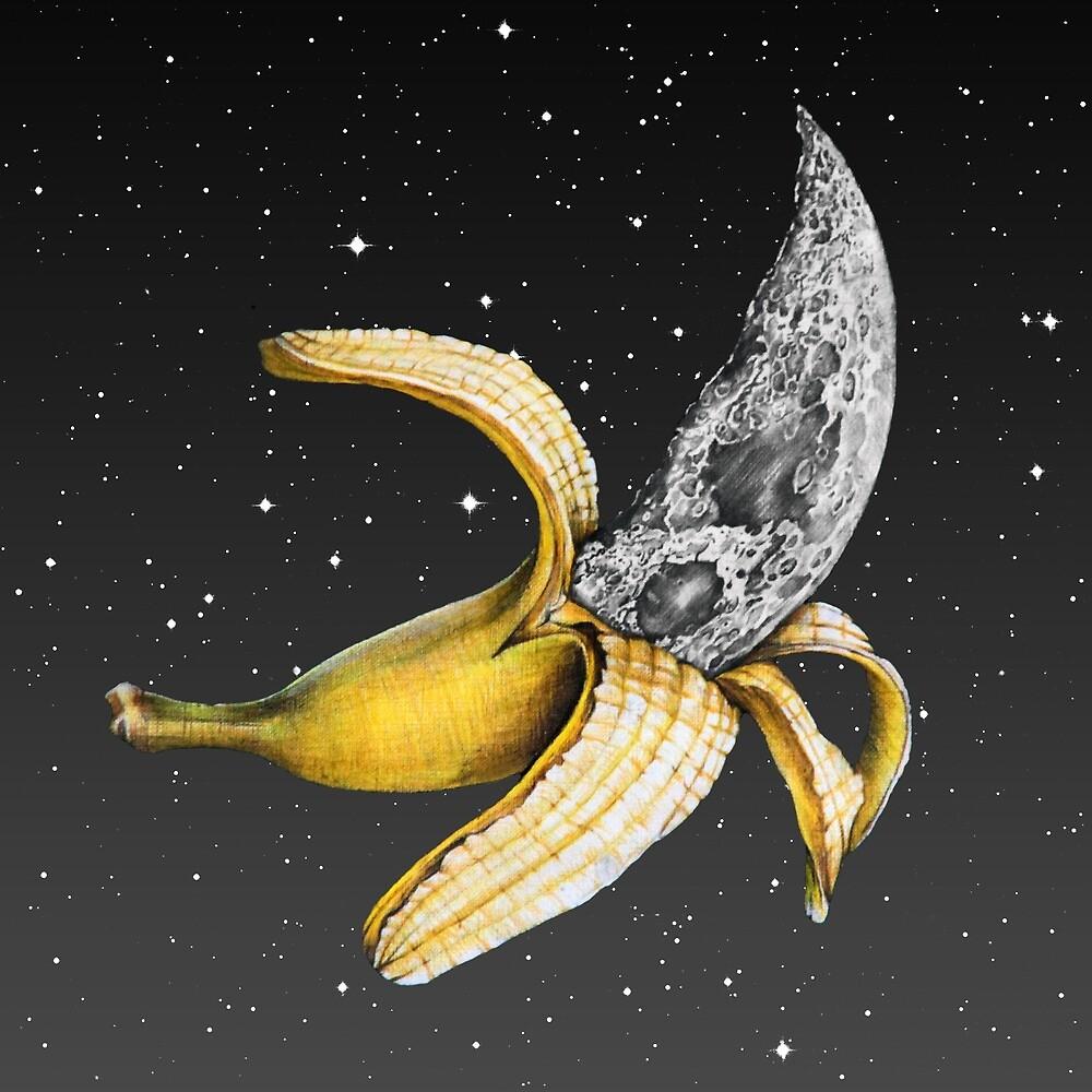 Mond Banane! von jamesormiston