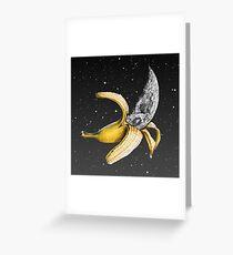Moon Banana! Greeting Card