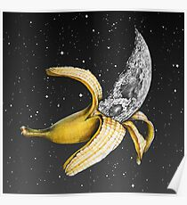 Moon Banana! Poster