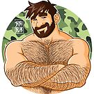 ADAM LIKES CROSSING ARMS - CAMOUFLAGE by bobobear