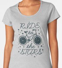 Bicycle with stars Women's Premium T-Shirt