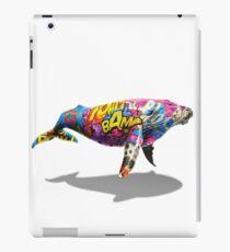 Tagged Whale iPad Case/Skin