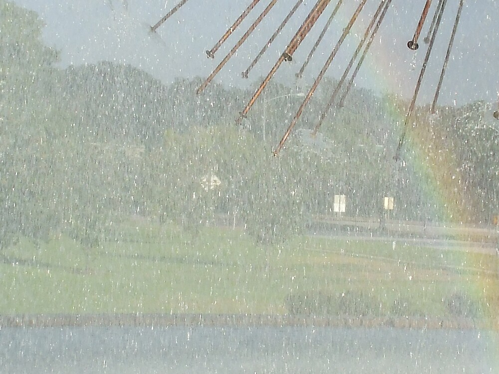 RAIN~BOW  by Dalzenia Sams