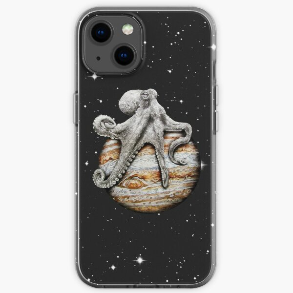 Celestial Cephalopod iPhone Soft Case