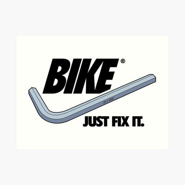 BIKE - Just Fix It Art Print