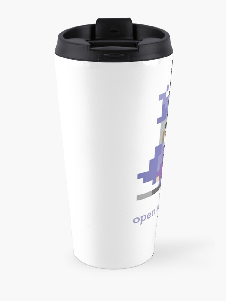 Alternate view of 8-bit Open Source Sorcerer - Programming Travel Mug