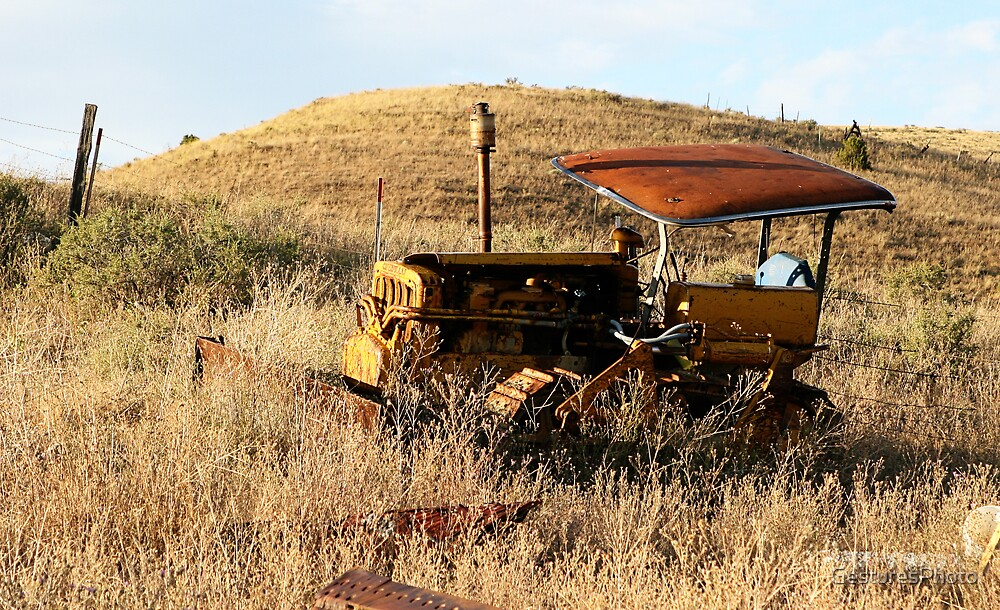 Tractor on the Hill by GesturesPhoto