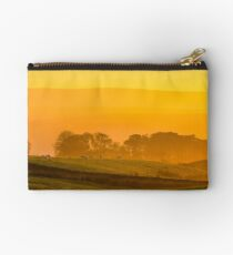 Misty evening above Roeburndale Studio Pouch