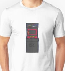 Retro Gamer Asteroids Arcade Cabinet T-Shirt
