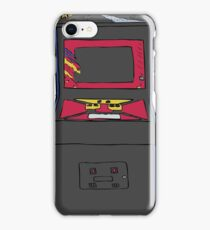 Retro Gamer Asteroids Arcade Cabinet iPhone Case/Skin