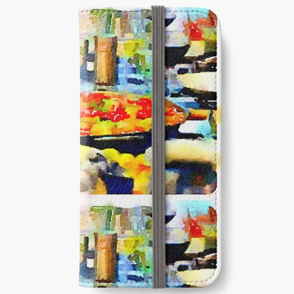 Paella iPhone Wallet