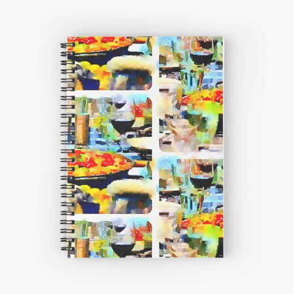 Paella Spiral Notebook