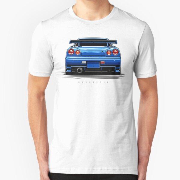 R34 GT-R Slim Fit T-Shirt