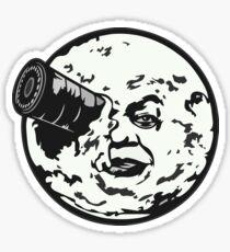 A Trip to the Moon (Le Voyage Dans La Lune) - face only Sticker