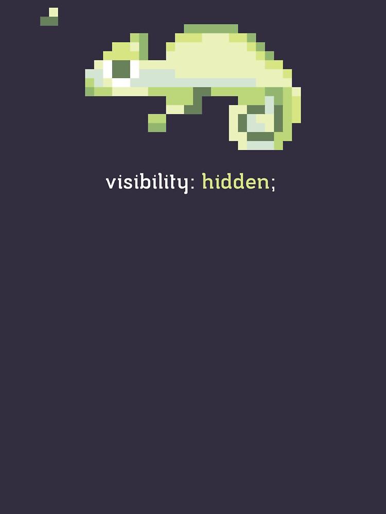 CSS 8-bit Chameleon - Programming by blushingcrow