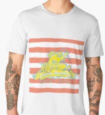 chinese underdog, fish, frogfish, fish, pirate Men's Premium T-Shirt