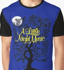 A Little Night Music Graphic T-Shirt