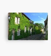 Village in the Dordogne Canvas Print