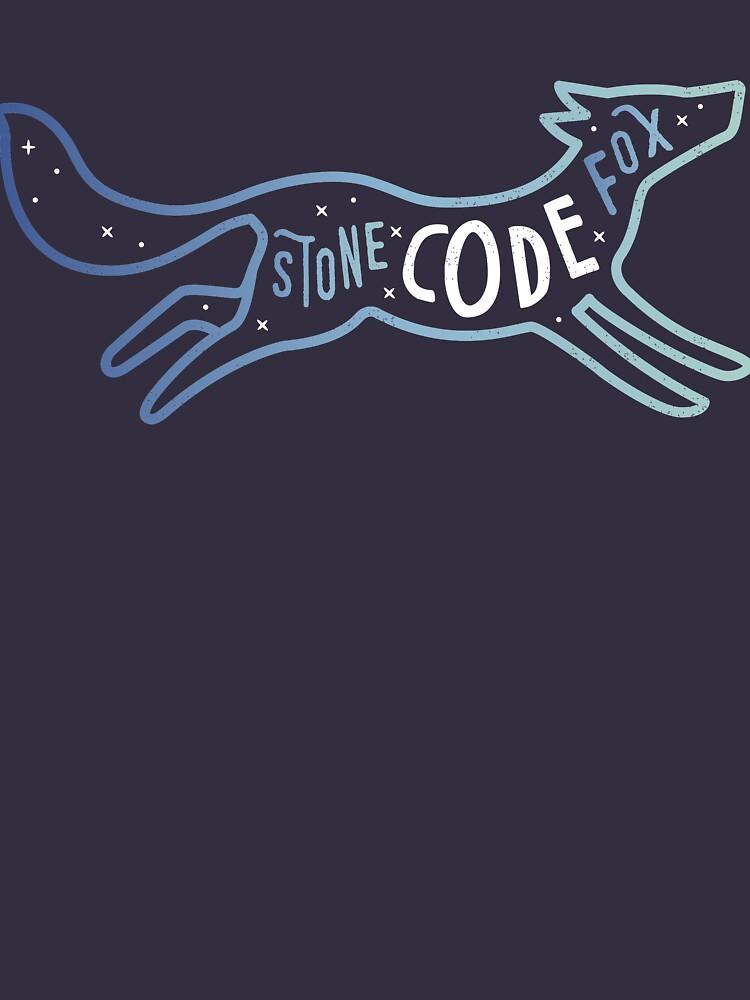 Stone Code Fox - Programming by blushingcrow