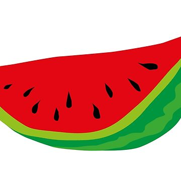 Watermelon hand drawn by cynoba