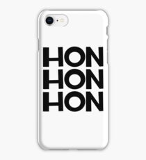 HON HON HON iPhone Case/Skin