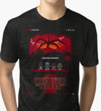 16-bit Stranger Things 2 Tri-blend T-Shirt