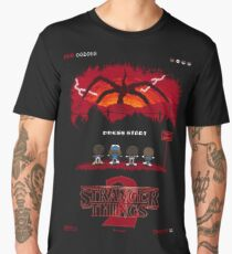 16-bit Stranger Things 2 Men's Premium T-Shirt