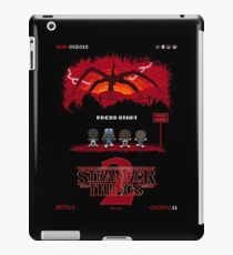 16-bit Stranger Things 2 iPad Case/Skin