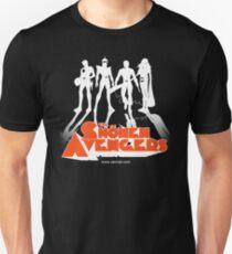 THE CLOCKWORK AVENGERS WHITE (ZeMiaL) T-Shirt