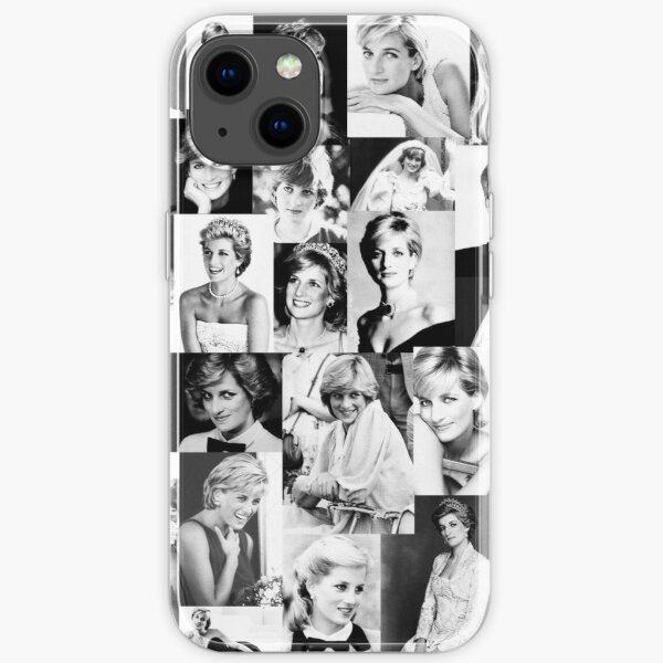 Lady Diana iPhone Flexible Hülle