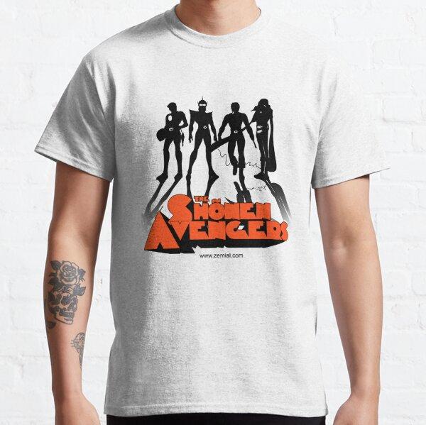 THE CLOCKWORK AVENGERS BLACK (ZeMiaL) T-shirt classique