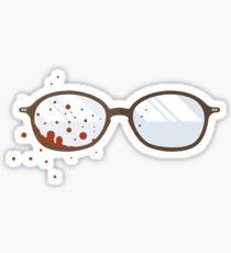 Will Graham's Glasses Sticker