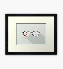 Will Graham's Glasses Framed Print