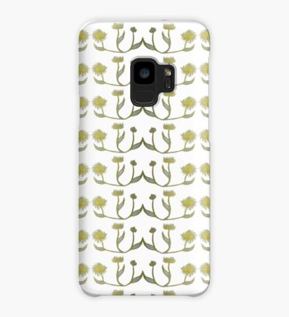 Gilded Painted Plants Case/Skin for Samsung Galaxy