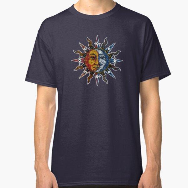 Celestial Mosaic Sun/Moon Camiseta clásica