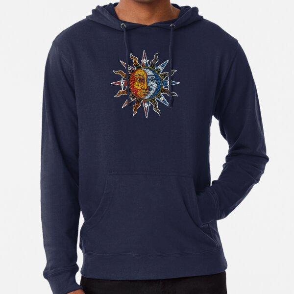 Celestial Mosaic Sun/Moon Lightweight Hoodie