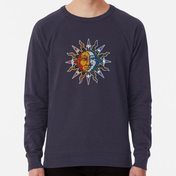 Celestial Mosaic Sun/Moon Lightweight Sweatshirt