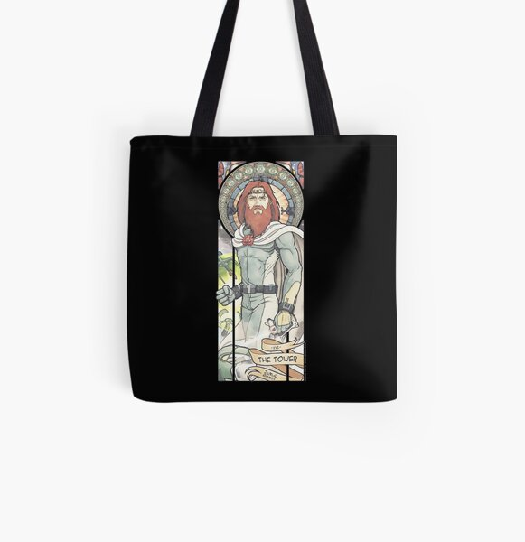XVI - THE TOWER (ZeMiaL) Tote bag doublé